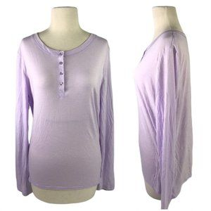 🔥 Gilligan & O'malley Purple Sleep Shirt Large